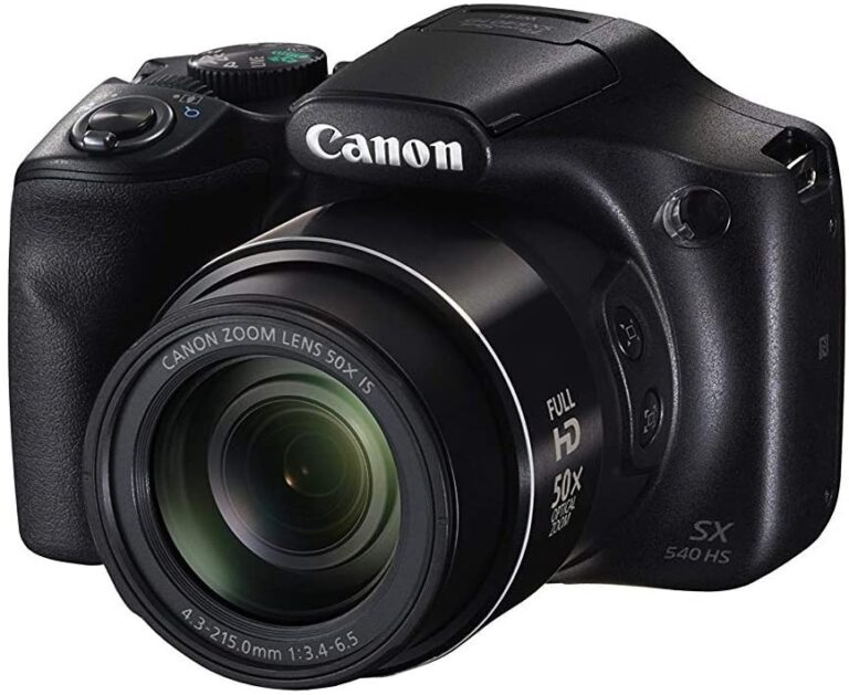Canon PowerShot SX540 HS with 50x Optical Zoom