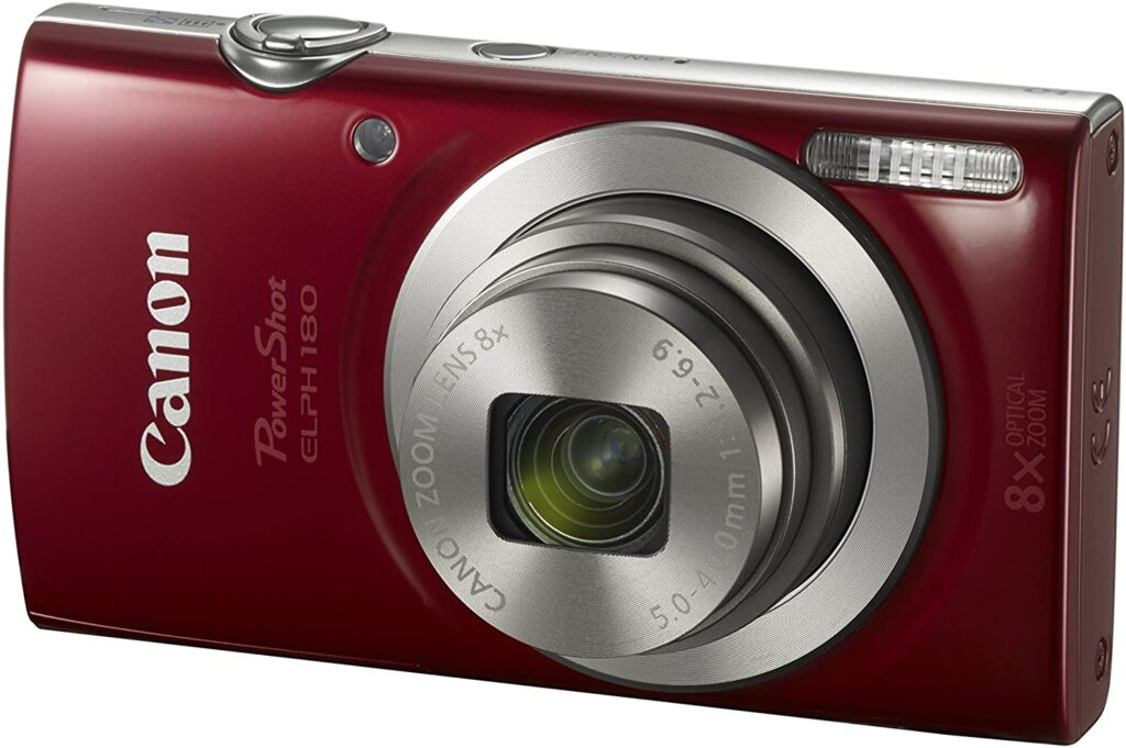 Canon PowerShot ELPH 180 Digital Camera w/Image Stabilization and Smart AUTO Mode
