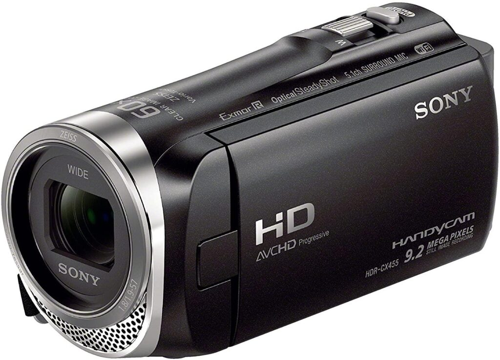 Sony HDRCX455/B Full HD 8GB Camcorder